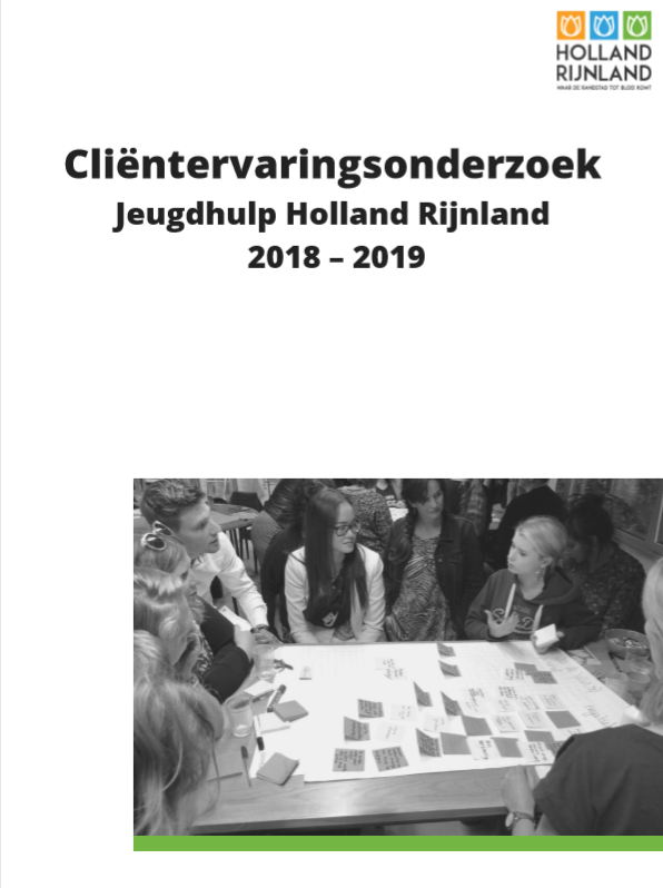 Clietnervaringsonderzoek Jeugdhulp Holland Rijnland